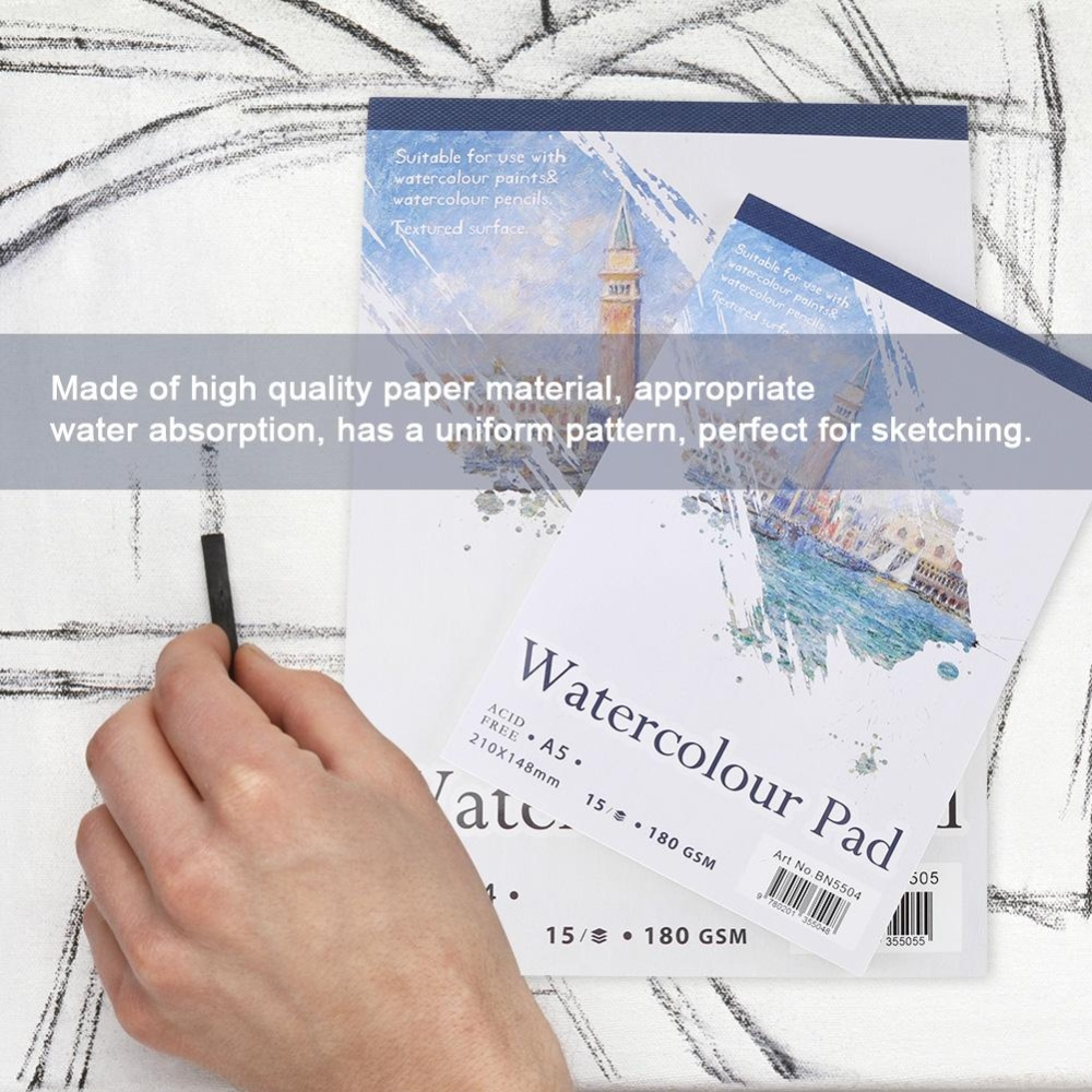 ... Artist Sketch Book Watercolor Paper Notepad For Painting DrawingDiary Creative Notebook A5 - intl ...