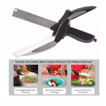 As Seen On TV Sampt Cutter 2 in 1 Knife & Cutting Board - 3