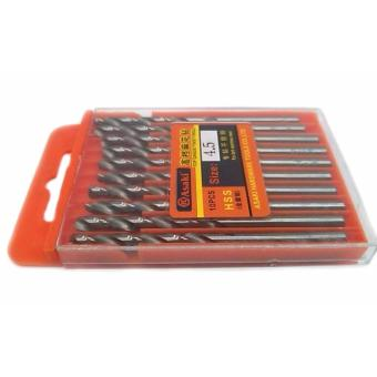 Asaki Top Grade Twist Drill 4.5 Set for Stainless/Aluminum/Alloy - 2