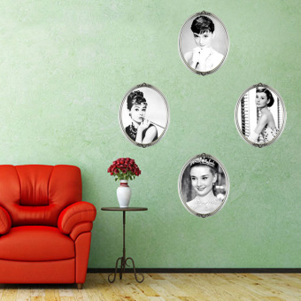 Audrey Hepburn DIY Art Quote Wall Decal Decor Room Stickers VinylRemovable Paper Mural Home