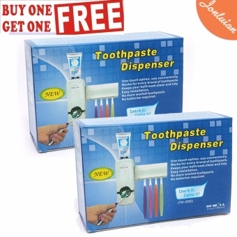 Automatic Touch Me Toothpaste Toothbrush Dispenser Buy 1 Get 1 Free