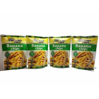 Bahaghari Banana Chips 100grams Set of 4