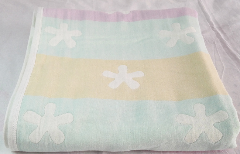 Bai le gauze summer super soft towel blanket