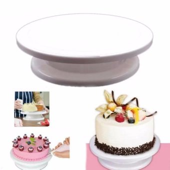 Bakeware Cake Decorating Decorating turntable (white)