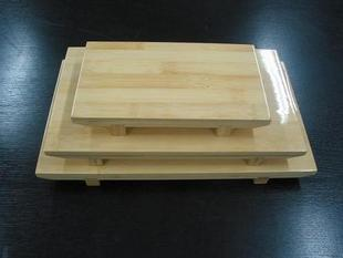 Bamboo sushi table bamboo sushi plate container