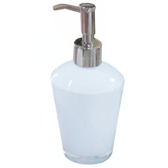 Bathroom Accessories Double Layered Lotion Dispenser (White)
