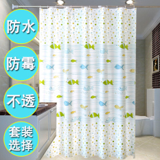 Bathroom Waterproof Toilet Partition Shower Room Curtain Shower Curtain