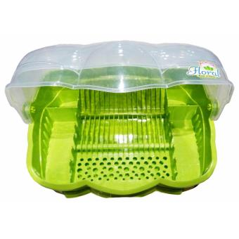 Beautiful Good Plastic Kitchen Dish Storage Cabinet Dish CabinetDish Organizer Dish Drainer 8809SDD - 2