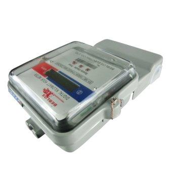 BEBLOS SY-168 Digital 240V Kilowatt Hour Meter (Gray) - 3