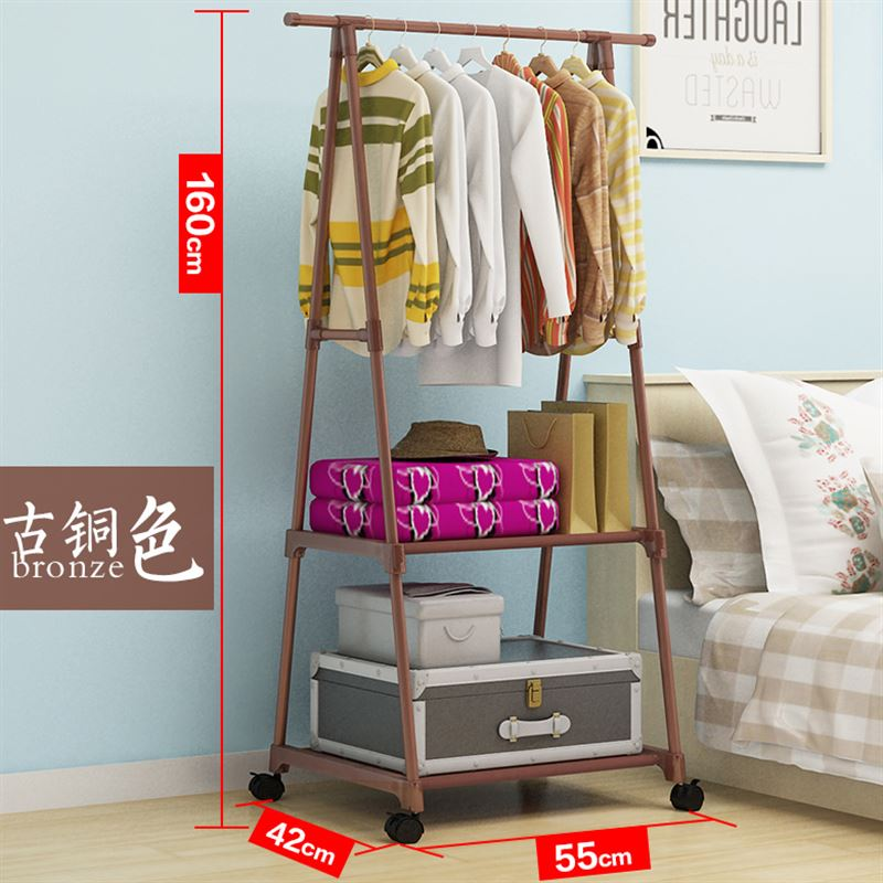 Philippines | Bedroom bedside clothes rack Metal Coat rack The ...