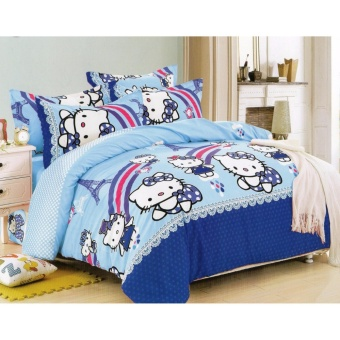Bedtime Bedsheet Double Size 3 Piece Set - 3