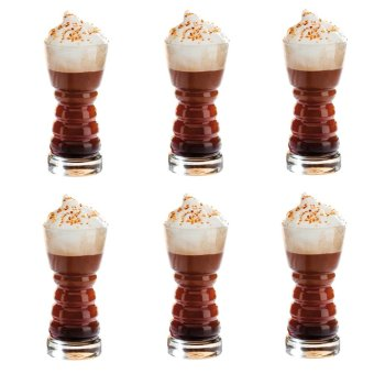 Belgian Frappe Glass 340ml Set of 6 Glassware Price Philippines