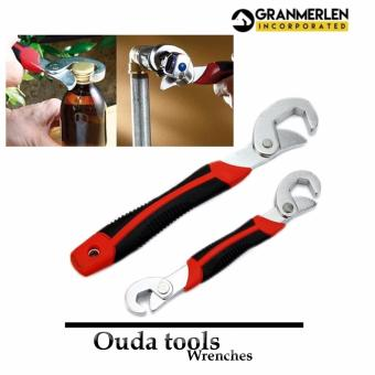 Best Selling Ouda Tools Universal Wrenches 2-piece Set (Black/Red) - 3