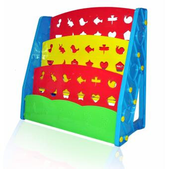 Bestbaby Children's Bookshelf Rainbow - 4