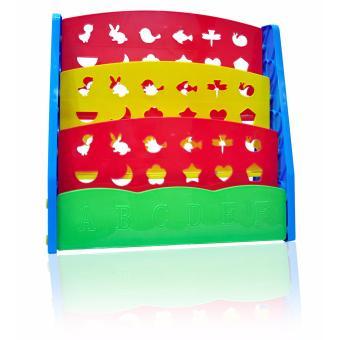 Bestbaby Children's Bookshelf Rainbow - 3