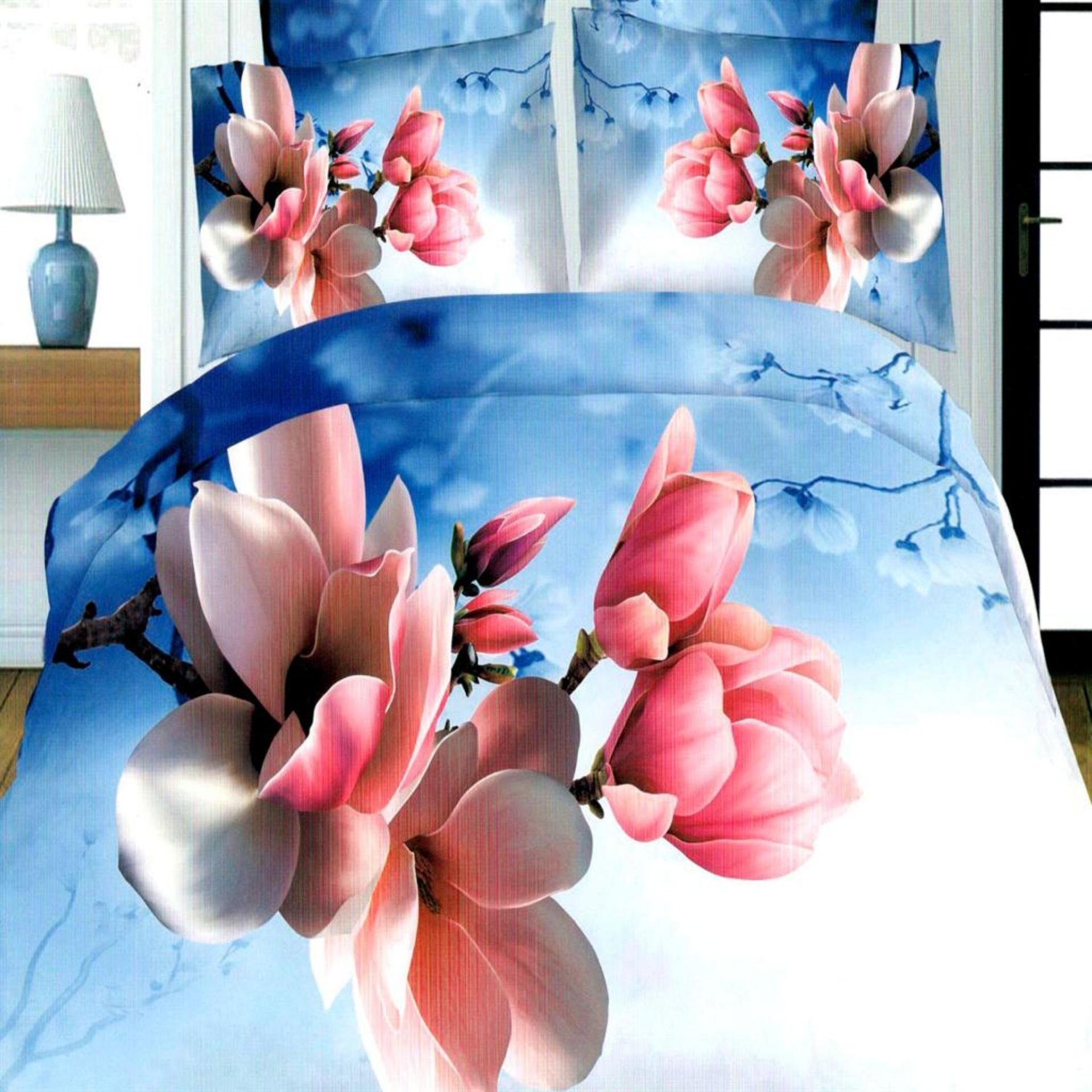 Beverly's Special Linen Collection 3D Bedsheet Set of 3(AOY-1684)-Single