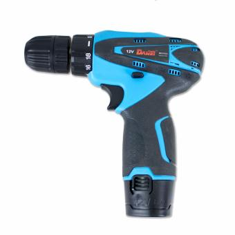 B.I.T. 12V Rechargeable Power Cordless Drill with 1 Extra Battery (Blue) - 4