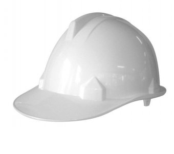 Blue Eagle Hard Hat Safety Helmet CE EN397 (White)