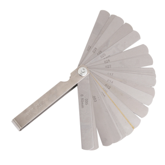 BolehDeals 1 Set Metric/Inch Feeler Filler Gauge with 32 Blades Valves Measure Tool - 2
