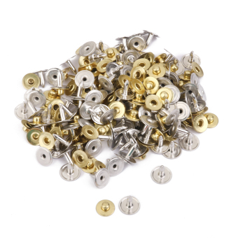 BolehDeals 100 Sets Rivets Fasteners Studs Button Sewing JeansGolden Price Philippines