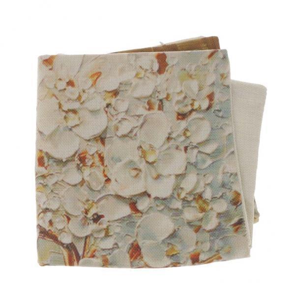 BolehDeals Set 2 Three-dimensional Oil Painting Tree Flower Cushion Cover Pillow Case - intl