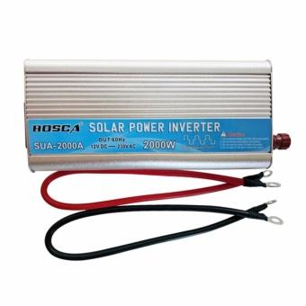 Bosca Sua-2000A 2000W 12V Dc To 230V Mute Enhandced Version Car Home Ac Solar Energy Emergency Power Supply Inverter #0124 - 2