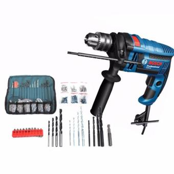 Bosch Electric Impact Drill GSB 16 RE + 100pcs accessories06012281K2