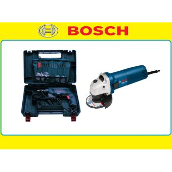 BOSCH GSB 10 RE IMPACT DRILL + GWS 060 ANGLE GRINDER COMBO SET