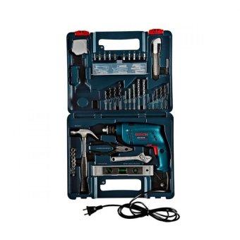 Bosch GSB 500 RE Impact Drill-DIY Tool Set - 06011A01K0 (Blue)