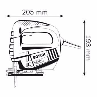 Bosch Professional, Jigsaw, GST 65 E - 2