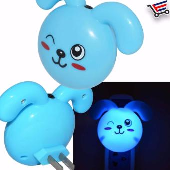 Bunny Design Bedroom Dim Light (Blue) - 2