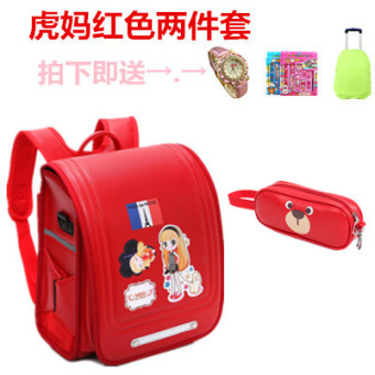 Burden relieving Japanese trolley school bag young student's school bag