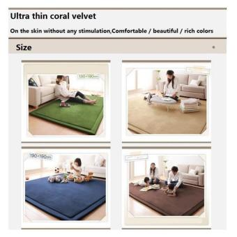 BUYINCOINS Comfort and Smooth Carpet - intl - 2