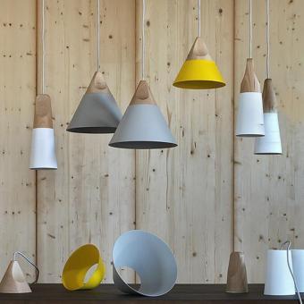 BUYINCOINS E27 Simple Wood Pendant Ceiling Hanging Lamp ChandelierKitchen Light Fixture L Black - intl - 2