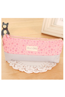 Buytra Floral Pencil Case Pink