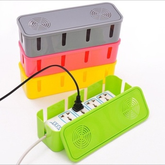 Cable Storage Box Case Wire Management Socket Protect children Safety Tidy Organizer Solution - intl