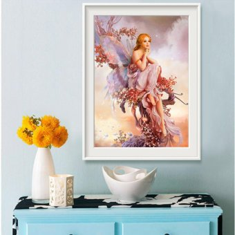 Candy Online Butterfly Elves DIY 5D Diamond Painting Cross StitchFull Drill Rhinestone Painting Decor J001 - 2