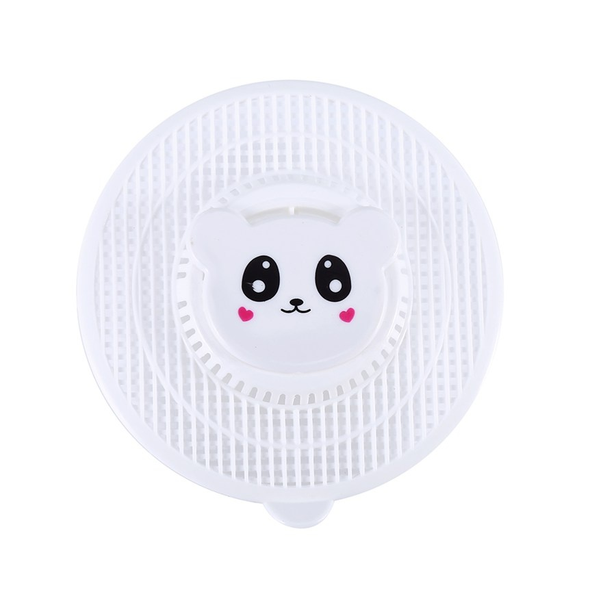 Cartoon Design Shower Drain Hair Catcher Stopper Clog Sink Strainer Bathroom Shower kitchen Drain Net Cleaning ...