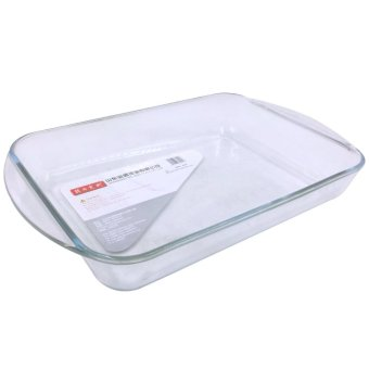 Casserole 2.6L Rectangular Microwaveable Tempered Glass - 3