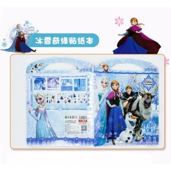 Catwalk Frozen My Little Pony Mickey Coloring Book Party For Kids12 Pages With Sticker - intl - 4