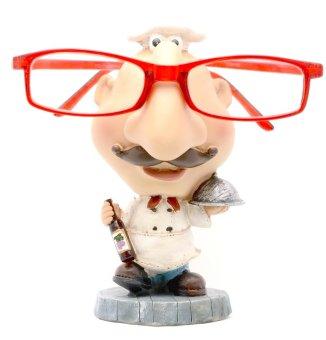 Chef Eyeglass Holder (White)