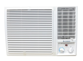 Chigo CW-20C2 0.8HP Manual Window Type Air Conditioner (White)