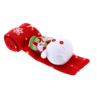 Children Kids Christmas Scarf Unisex Boy Girl Xmas Muffler Christmas Cloth Accessory (Intl) - picture 2