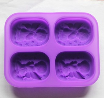 Chocolate mechanism jelly pudding cake mold