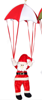 Christmas Decorative Parachute Snowman Pendant