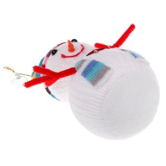 Christmas Gift Christmas Snowman Doll Toy 20cm - Intl