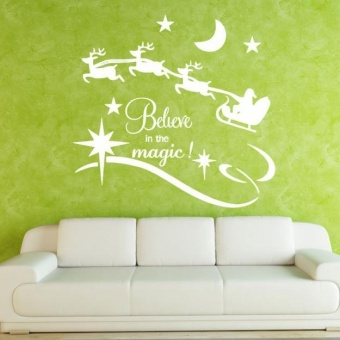 Christmas Stick Wall Art Decal Mural Home Room Decor Wall Sticker WH - intl - picture 2