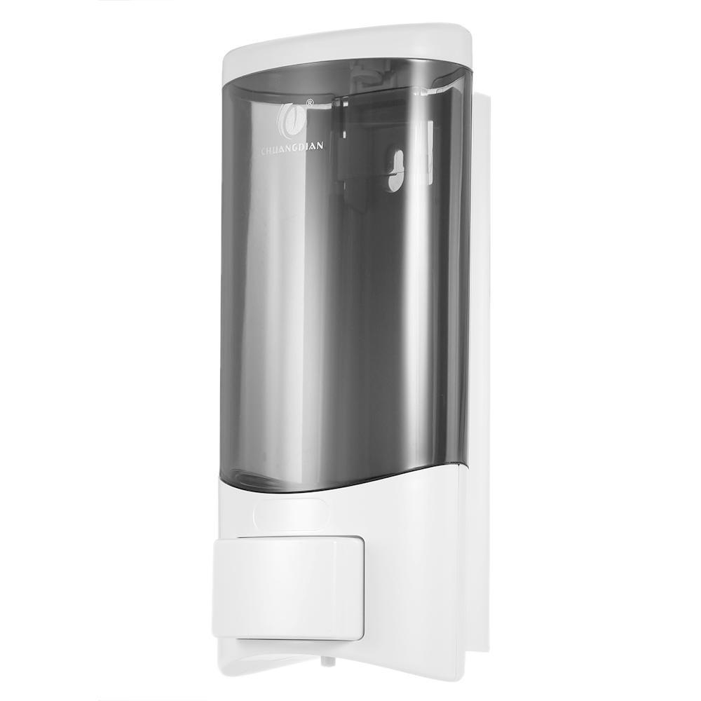 Chuangdian Wall Mounted Single Bottle Manual Soap Dispenser Shampoobox Rest Room Washroom Toilet Hand Washing