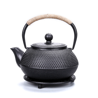 CI SHEN Uncoated Cast Iron Teapot
