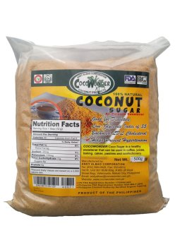 CocoWonder Coconut Nectar Sugar 500grams